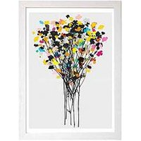 Product photograph showing East End Prints Buttercups 2 By Garima Dhawan A3 Framed Wall Art