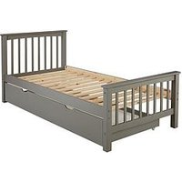 Product photograph showing Novara Kids Single Bed Frame With Mattress Options Buy And Save - Excludes Trundle - Bed Frame With Standard Mattress