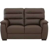 Product photograph showing Columbus Leather 2 Seater Sofa
