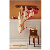 Product photograph showing Scion Mr Fox Bath Towel
