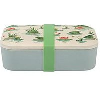Product photograph showing Cath Kidston Bamboo Lunch Box