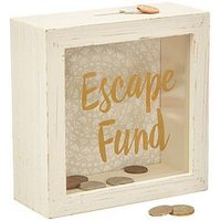 Product photograph showing Sass Belle Escape Fund Money Box