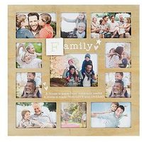 Product photograph showing Love Life Multi Photo Frame