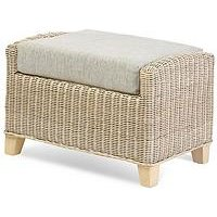 Product photograph showing Desser Corsica Conservatory Footstool