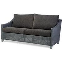 Product photograph showing Desser Dijon Grey Wash Conservatory 3-seater Sofa