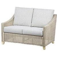Product photograph showing Desser Dijon Natural Conservatory 2-seater Sofa