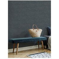 Product photograph showing Superfresco Easy Heritage Texture Navy Wallpaper