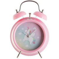 Product photograph showing Sass Belle Rainbow Unicorn Alarm Clock