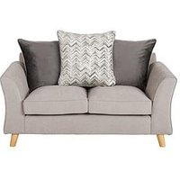 Product photograph showing Legato Fabric Scatter Back 2 Seater Sofa
