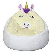 Product photograph showing Kaikoo Unicorn Bean Bag Chair