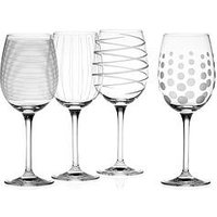 Product photograph showing Cheers White Wine Glasses Ndash Set Of 4