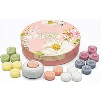 Product photograph showing Yankee Candle Tea Light Delight Gift Set
