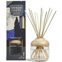 Product photograph showing Yankee Candle Midsummer Rsquo S Night Large Jar Candle And Reed Diffuser Set
