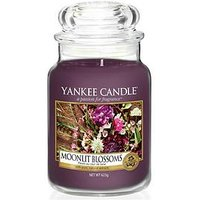 Product photograph showing Yankee Candle Classic Large Jar Candle Ndash Moonlit Blossoms