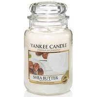 Product photograph showing Yankee Candle Classic Large Jar Candle Ndash Shea Butter