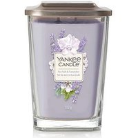 Product photograph showing Yankee Candle Elevation Collection Large Candle Ndash Sea Salt Amp Lavender