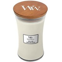 Product photograph showing Woodwick Large Hourglass Candle Ndash Solar Ylang