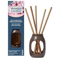 Product photograph showing Yankee Candle Cherry Blossom Pre-fragranced Reed Diffuser Starter Kit