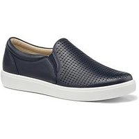 Hotter Daisy Wide Fit Deck Shoes - Navy