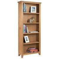 Product photograph showing Julian Bowen Astoria Tall Bookcase