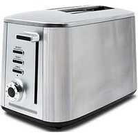Drew & Cole 2 Slice Rapid Toaster - Chrome