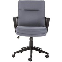 Product photograph showing Pluto Office Chair - Grey