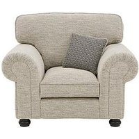 Product photograph showing Harley Fabric Armchair