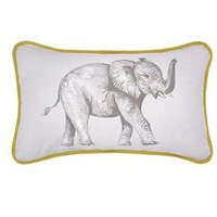 Product photograph showing Sam Faiers Little Knightleys Sam Faiers Elephant Print Cushion
