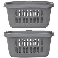 Wham Casa Hipster Laundry Baskets  - Set Of 2
