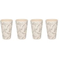 Product photograph showing Natural Elements Set Of 4 Eco-friendly Bamboo Cups