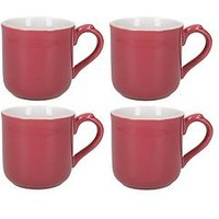 Product photograph showing Set Of 4 Pink Mugs