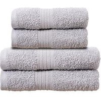 Product photograph showing Silentnight Lurex 4pc Towel Bale