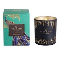 Product photograph showing Sara Miller Fig Vanilla And Cacao Candle