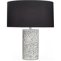 Product photograph showing Percy Terrazzo Table Lamp