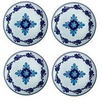 Product photograph showing Maxwell Williams Majolica Dinner Plates Set Of 4