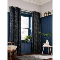 Product photograph showing Clarissa Hulse Dill Lined Eyelet Curtains