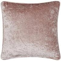 Product photograph showing Morgan Crushed Velvet Cushion
