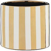 Product photograph showing Metallic Stripe Planter
