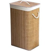 Bamboo Natural Laundry Basket