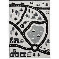 Product photograph showing Scandi Roads Rug