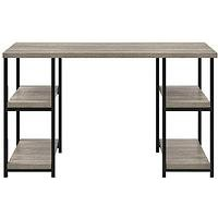 Product photograph showing Elmwood Double Pedestal Desk