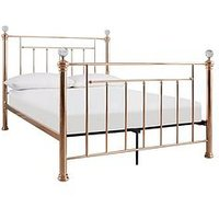 Product photograph showing Rosy Metal Bed Frame
