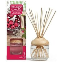 Product photograph showing Yankee Candle Reed Diffuser Ndash Red Raspberry