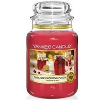 Product photograph showing Yankee Candle Christmas Morning Collection Ndash Christmas Morning Punch Large Classic Jar Candle