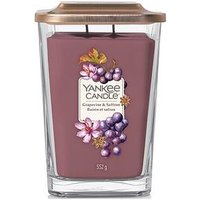 Product photograph showing Yankee Candle Elevation Collection Large Candle Ndash Grapevine And Saffron