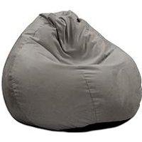 Product photograph showing Rucomfy Slouchbag Velvet Bean Bag