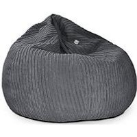 Product photograph showing Rucomfy Slouchbag Jumbocord Bean Bag