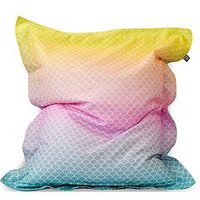 Product photograph showing Rucomfy Mermaid Ombre Junior Squarbie Bean Bag
