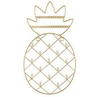 Product photograph showing Sass Belle Pineapple Wall Mount Jewellery Hanger