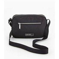 Calvin Klein Nylon Camera Cross Body Bag - Black